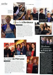 22. 03 2012 - Bordeaux Magazine - Petruss