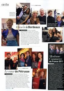 22. 03 2012 - Bordeaux Magazine - Petruss