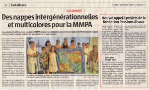 55. 04 07 2015 - L'ALSACE - Nappes MMPA
