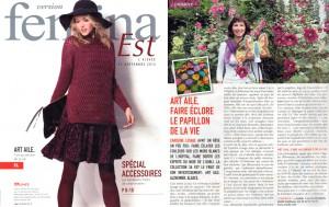 44. 09 2014 - Femina - Article Artaile