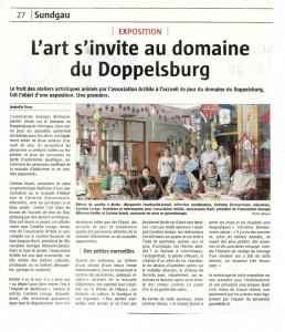 47. 15 02 2014 - L'ALSACE - Expo Doppelsbourg